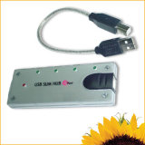 Slanke Hub USB (hemel-208A)