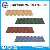 Azulejos de azotea de acero revestidos modificados para requisitos particulares de la viruta de la piedra del color