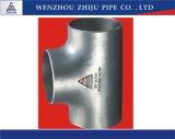 Fabricación directa de China de te inoxidable del tubo de acero