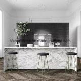 L'Italie de comptoirs en marbre blanc pour la cuisine et salle de bains