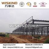 Edificio comercial de la estructura de acero del cuento multi con el panel de emparedado