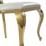 Горячий стул гостиницы стула венчания золота нержавеющей стали сбывания