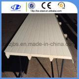 Material de painéis metálicos do tipo sanduíche de poliuretano e poliestireno/do painel de tecto