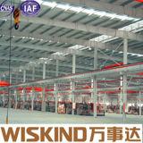 Heller Rahmen-vor ausgeführter Stahlkonstruktion-Aufbau für Stahlherstellung