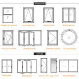 Automatisches Walzen-Blendenverschluss-Aluminiumfenster