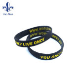 Cadeau promotionnel point à la mode Bracelet Bracelet en silicone/