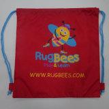 Cordón de béisbol de poliéster bolsa con la impresión de logotipo personalizado