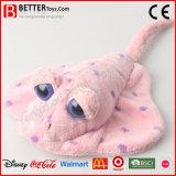 연약한 쥐가오리 바다 물 아이를 위한 동물에 의하여 채워지는 가오리 물고기 견면 벨벳 장난감