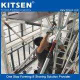 다재다능한 유연한 알루미늄 반지 자물쇠 비계 계단 탑