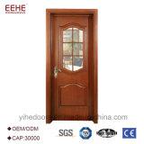 رخيصة بسيطة تصميم شعريّة أبواب خشبيّة مع زجاج