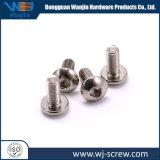 Les matériels OEM placage nickel produit usiné vis à tête ronde