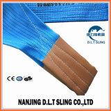 Imbracatura della tessitura del poliestere da 8 tonnellate per carico di sollevamento