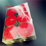 Candele di Tealight di scintillio per il bello contenitore di regalo dell'imballaggio