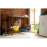 Base di cuccetta moderna della mobilia del dormitorio del banco con lo scrittorio