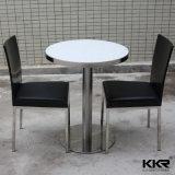 Rond Noir personnalisé moderne Surface solide Table à café (180622)