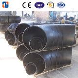 Gomito del tubo del acciaio al carbonio raggio di lunghezza 90 gradi