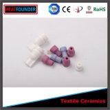 cerámica industrial de la materia textil del alúmina Al2O3 del 92% el 95% el 99%
