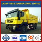 De gloednieuwe Vrachtwagen van de Stortplaats van Hongyan Genlyon 6X4 Linker op Verkoop