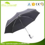 Изготовленный на заказ рекламируя зонтик перемещения створки печати 3 портативный