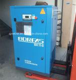 BK Correia11-8 Conectando 1,7m3/min 8bar pequeno usando um compressor de parafuso industrial