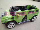O Hummer caçoa o carro elétrico com assento alargado do táxi quatro dobro