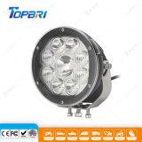 El trabajo de 90W de luz LED de iluminación automática de camiones de automóviles 7pulg.