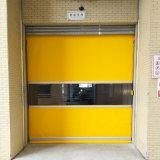 Puerta industrial de la velocidad del PVC de la puerta del balanceo de la puerta automática del balanceo