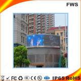 Visualizzazione di LED esterna del TUFFO di colore completo P16 per la video pubblicità