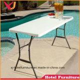 Le PEHD Table pliable pour mariage/banquet/Restaurant/hôtel/plage/piscine