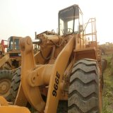 Cargadores usados usados de las partes frontales de la oruga 966e de la maquinaria de construcción de los cargadores de la rueda