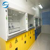 Stahlprüftisch-Oberseite Fumehood für Chemie-Labor mit feuergefährlichen Sicherheits-Schränken