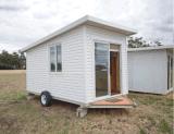 Casa prefabricada de la caravana de la casa del acoplado móvil