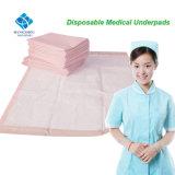 La Atención Médica del Hospital Underpad descartables para adultos con tamaño grande