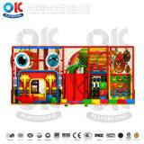 Красочный высшего качества для использования внутри помещений мягкая игровая площадка