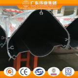 Profil en aluminium personnalisé par sélection énorme pour la construction