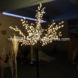 De Lichten van de LEIDENE Kerstboom van de Kers voor de Decoratie van de Partij van de Vakantie