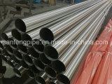 Medidas sanitárias SS304 tubo oval em aço inoxidável