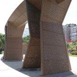알루미늄 클래딩의 중국 공급자에 의해 하는 관통되는 알루미늄 장