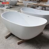 Bañera libre del cuarto de baño superficial sólido de Corian para los proyectos del hotel