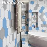 Cocina moderna con forma hexagonal Non-Slip Azulejos Azulejos baño