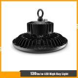 luz elevada do louro do diodo emissor de luz do UFO de 130lm/W 100W com garantia 5years