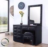 Классическая мебель с одной спальней кровать из натуральной кожи для домашнего использования