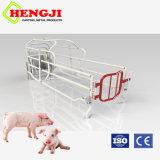 Porcina multifunción parto jaulas con piso de hierro fundido