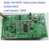 新しいAC220V 1500Wのマイクロウェーブ動きセンサーのモジュールの探知器の検出Hw-Mc201