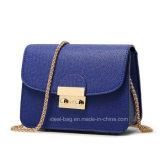 Провод фиолетового цвета кожи Уважаемые цепь Messenger сумки через плечо