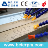 WPC PVC+PP+PE hölzerne zusammengesetzte Bodenbelag-Profil-Strangpresßling-Plastikzeile