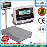 Plataforma de pesaje electrónico de las escalas de banqueta escala