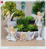 Melhor vendedor popular na decoração feericamente da HOME do Figurine da resina de Europa
