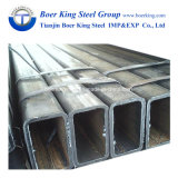 Zwarte die Pijp van de Pijp van het Staal van de Pijp ERW van het Staal van de koolstof de Vierkante/het Vloeistaal van de Buis in China wordt gemaakt