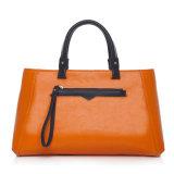 sacchetto di cuoio della memoria Chain del Tote del lavoro delle donne dell'unità di elaborazione della borsa delle signore di alta qualità 2PCS con la borsa (WDL0723)